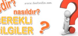 Türkiye'deki Barajlar ve Özellikleri(Word,Doc)İndir,Download!!