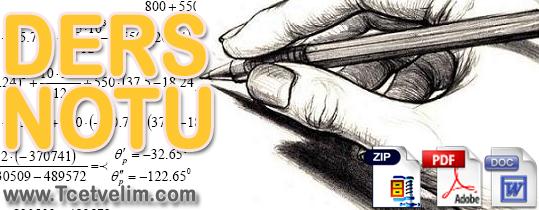 Ders Notu–Zemin Mekaniği 1 Slaytları,Pdf