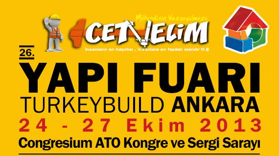 26. YAPI FUARI – TURKEYBUILD Ankara 24-27 Ekim 2013